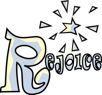 Fun Rejoice Word Art