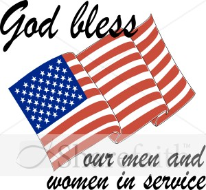 God Bless Our Servicemen