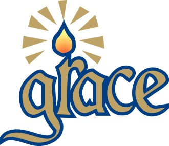 Grace Candle Typography