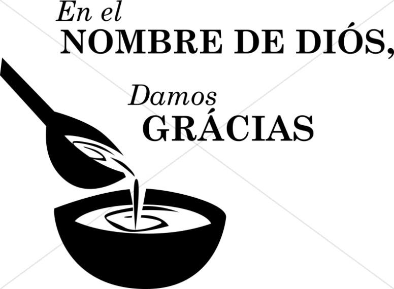Domos Gracias en Espanol