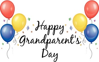 Happy Grandparents Day Balloons