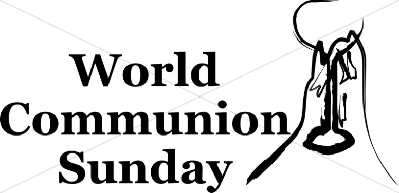 Black and White World Communion Sunday