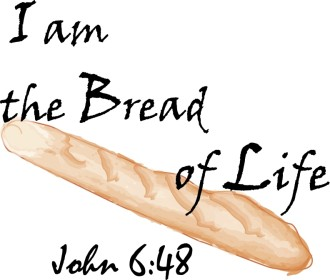 Bread of Life Wording   John 6:48