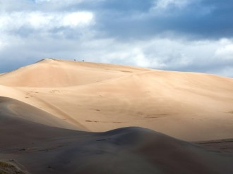 Rolling Desert Dunes