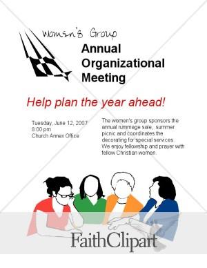 women s group planning meeting flyer dc hidden