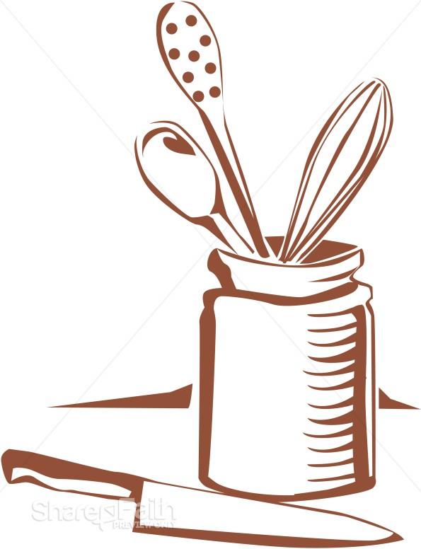 Kitchen Utensils Church Food