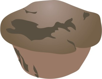 Chocolate Clipart Muffin