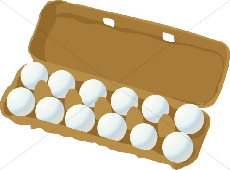 Dozen Eggs Carton