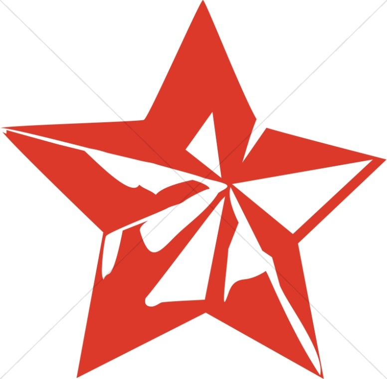Red Star Decoration