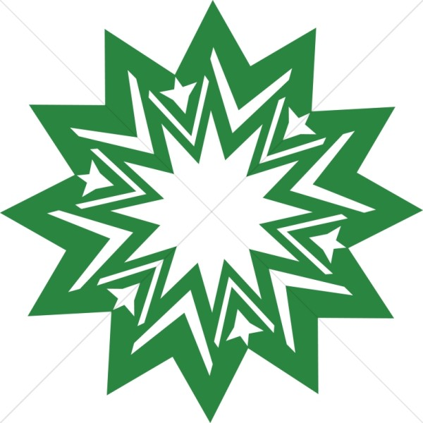 Green Radial Design