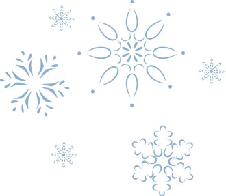 December Snowflake Designs