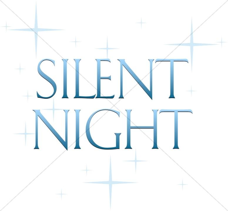 Silent Night Natal Stars