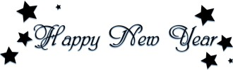 Cute Stars and Happy New Year Script