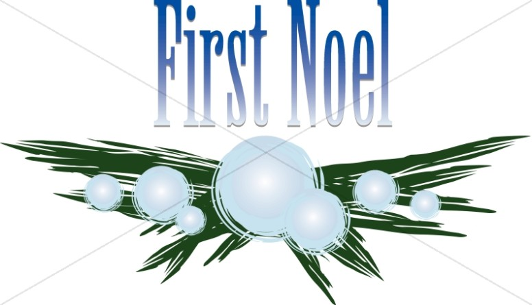 First Noel with Frosty Branch