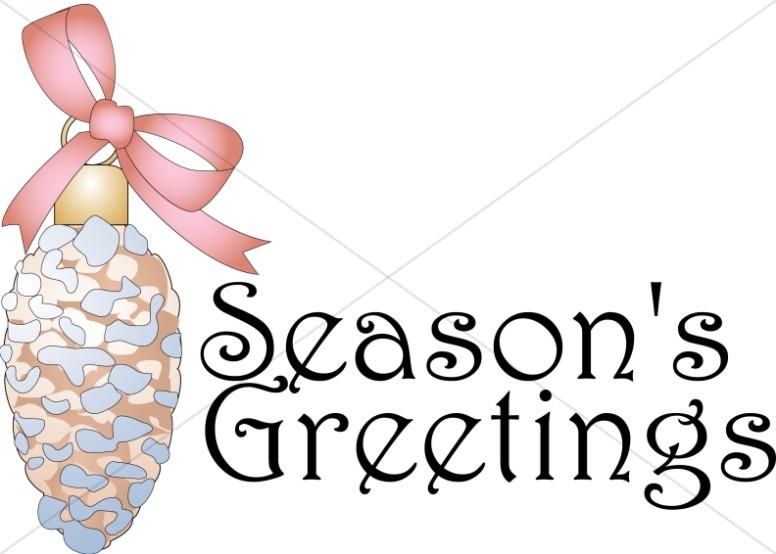 Season's Greetings Text