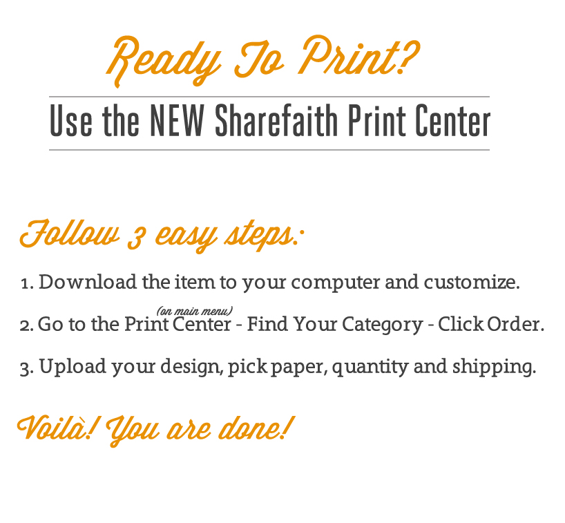 print center instructions