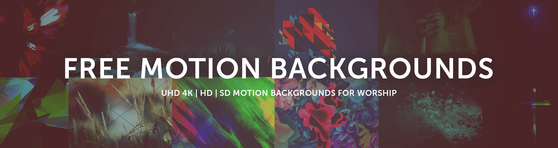 Free Motion Backgrounds