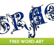 Free Religious Word-Art