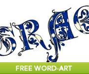 Free Religious Word-Art