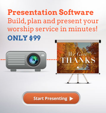 Build, Plan and Present with Sharefaith Presenter!