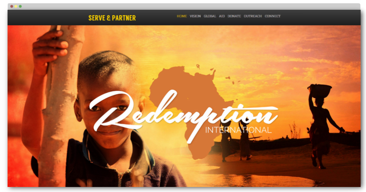 missionary website templates