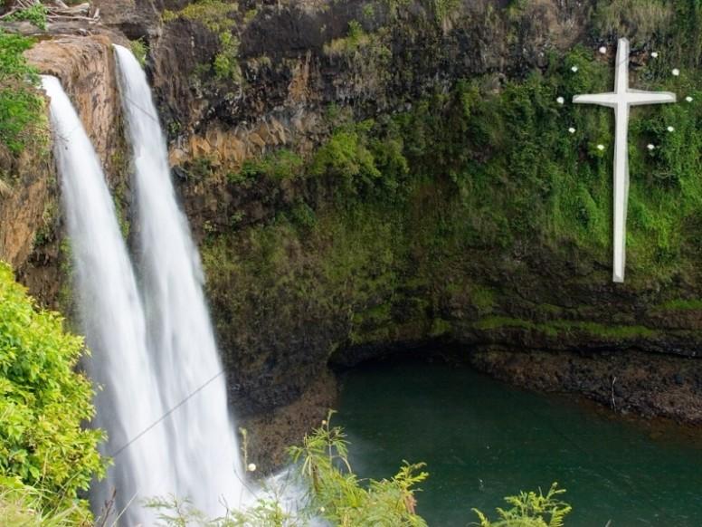 Twin Waterfalls Spring