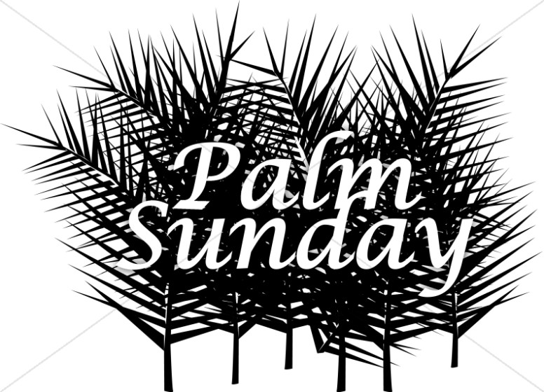 Palm Sunday with many Fronds