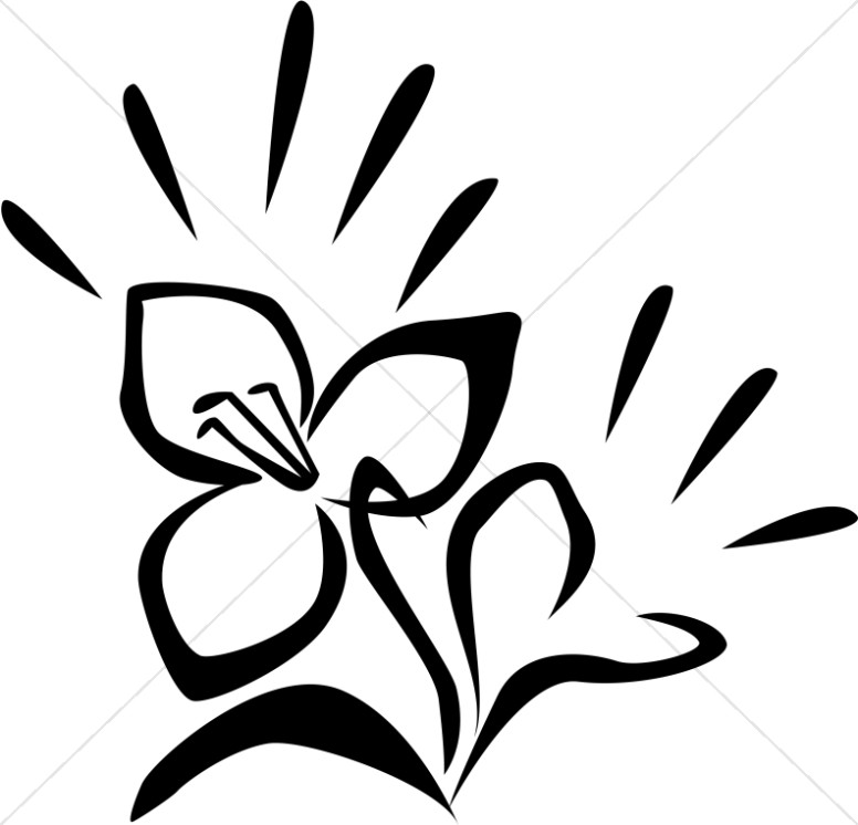 Church Flower Clipart, Church Flower Image, Church Flowers Graphic ...