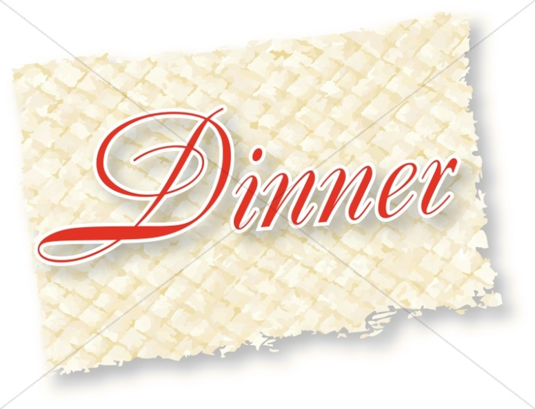 Fancy Dinner Label