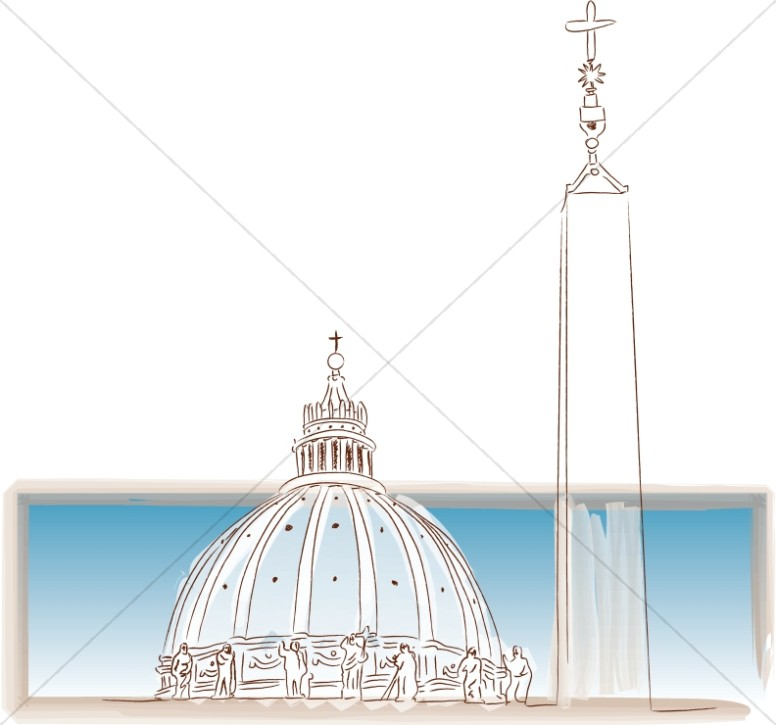 papal church buildings