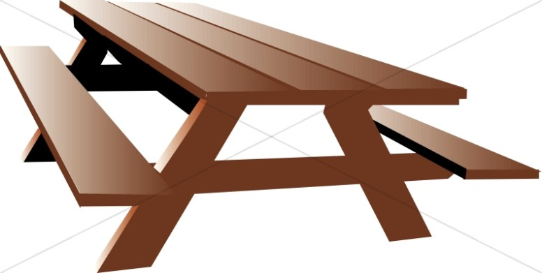 simple Picnic bench