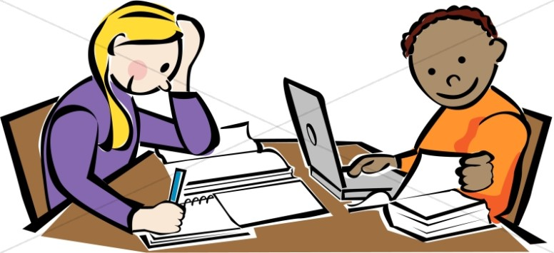 library kids studying christian classroom clipart rh sharefaith com clipart studying student clipart studying