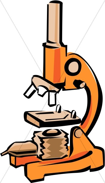 Bright Orange Microscope