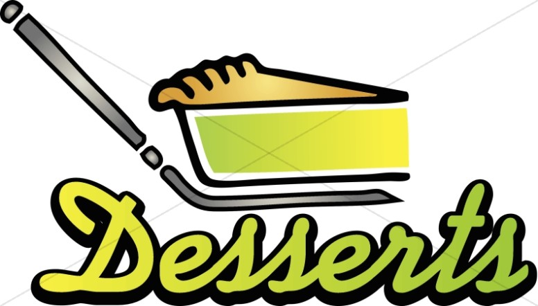 keylime pie desserts refreshments word art rh sharefaith com clip art dessert pictures clip art dessert pictures