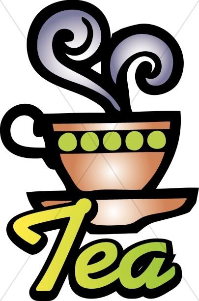 Tea Word Art