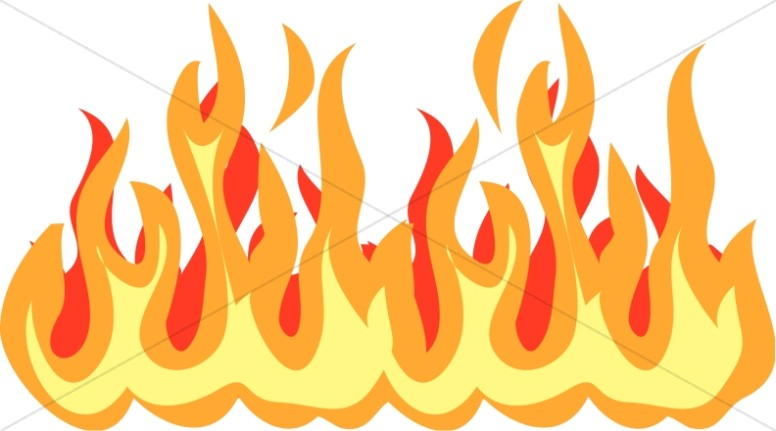 clipart flames of fire - photo #37