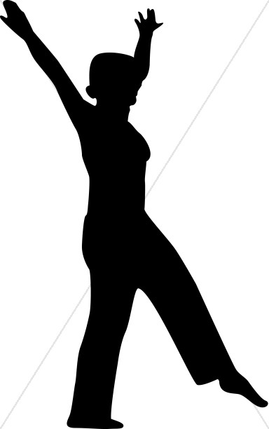 dancing woman silhouette praise clipart rh sharefaith com free praise dance clipart praise dance pictures clip art
