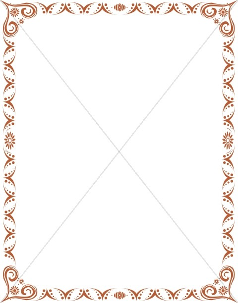 Formal Border Clipart - Best Graphic Sharing •