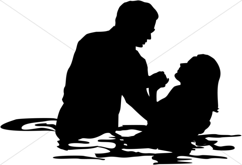 adult female full immersion baptism baptism clipart rh sharefaith com baptism images clipart Baptism Backgrounds