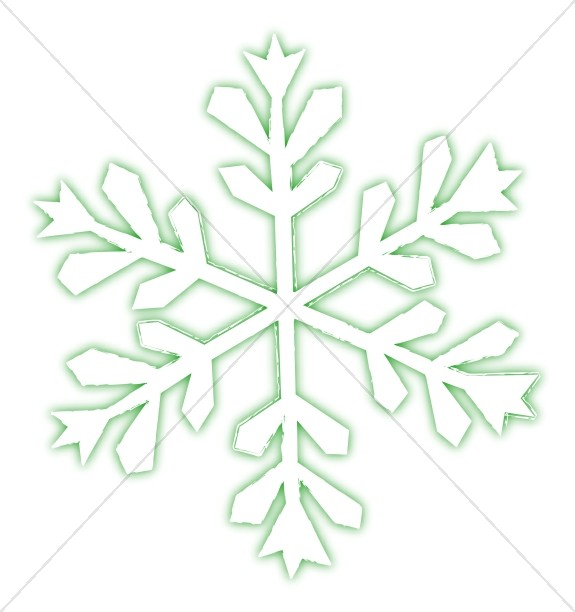 Single Frosty Snowflake Snowflake Images