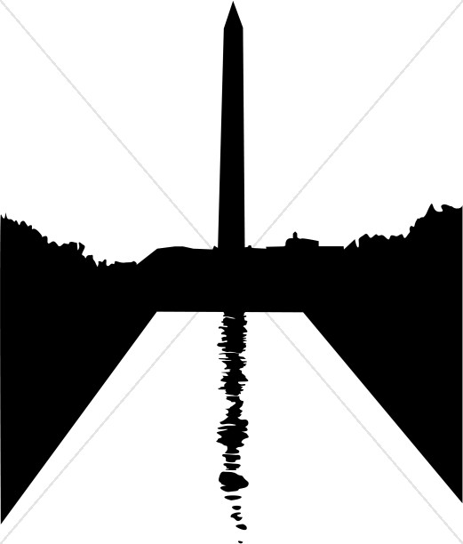 washington monument silhouette christian classroom clipart rh sharefaith com