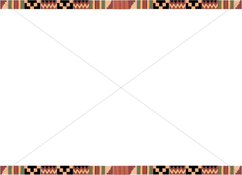 Kente Cloth Landscape