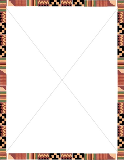 Kente Cloth in Portait