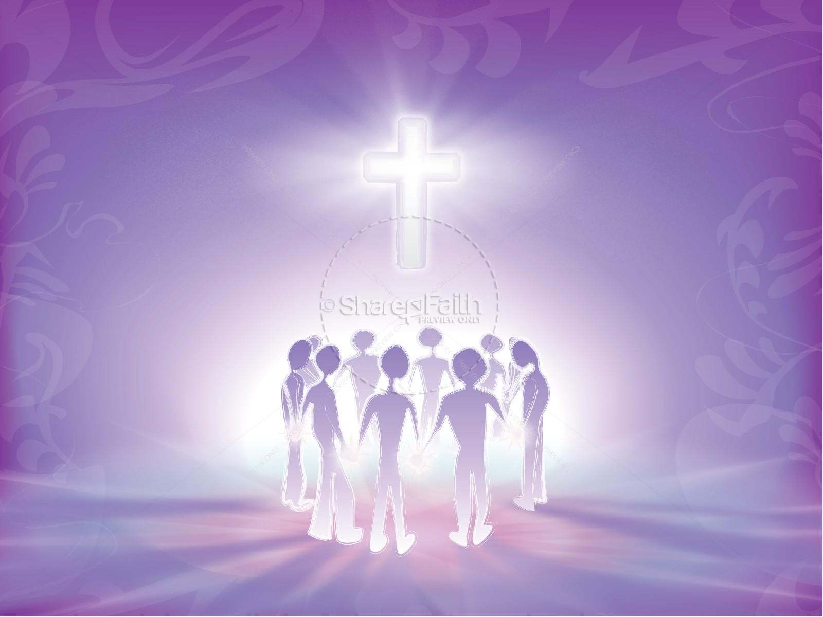 Pray Without Ceasing with Radiant Purple