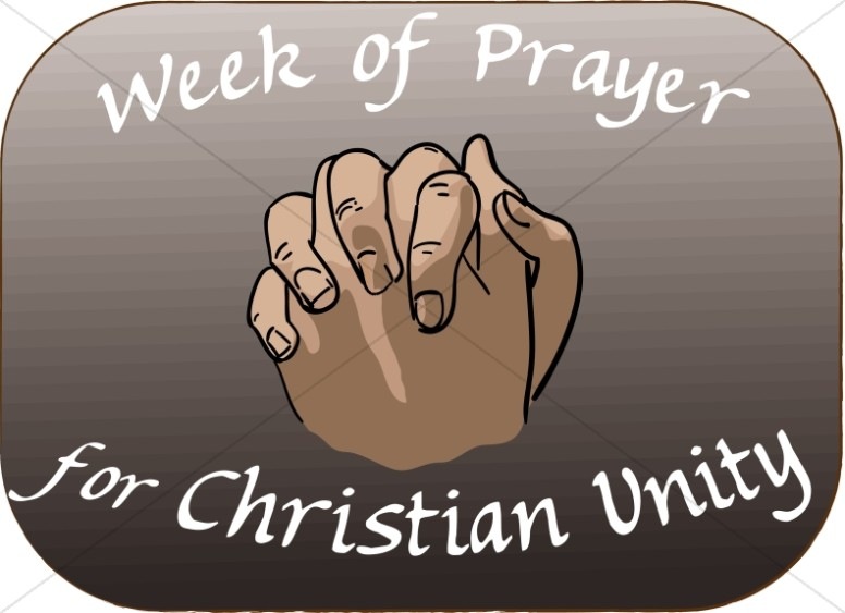 Hands Clasped for Week of Prayer