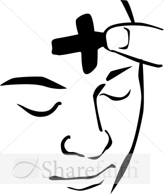 ash wednesday face clipart ash wednesday clipart rh sharefaith com ash wednesday cross clipart ash wednesday clipart black and white
