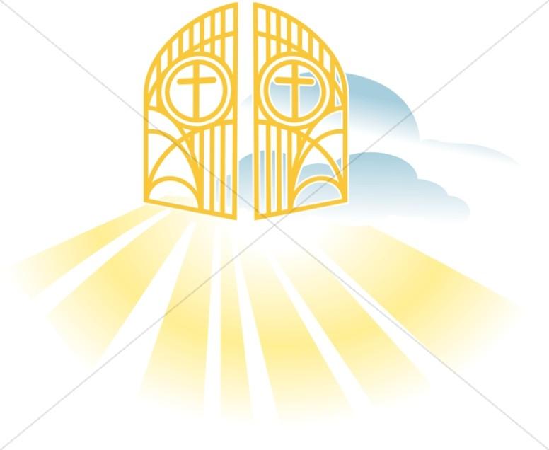 heavenly gates new testament clipart rh sharefaith com clipart heaven and earth clipart heavenly
