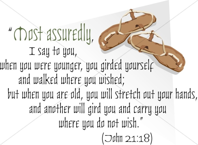 Most Assuredly and Sandals