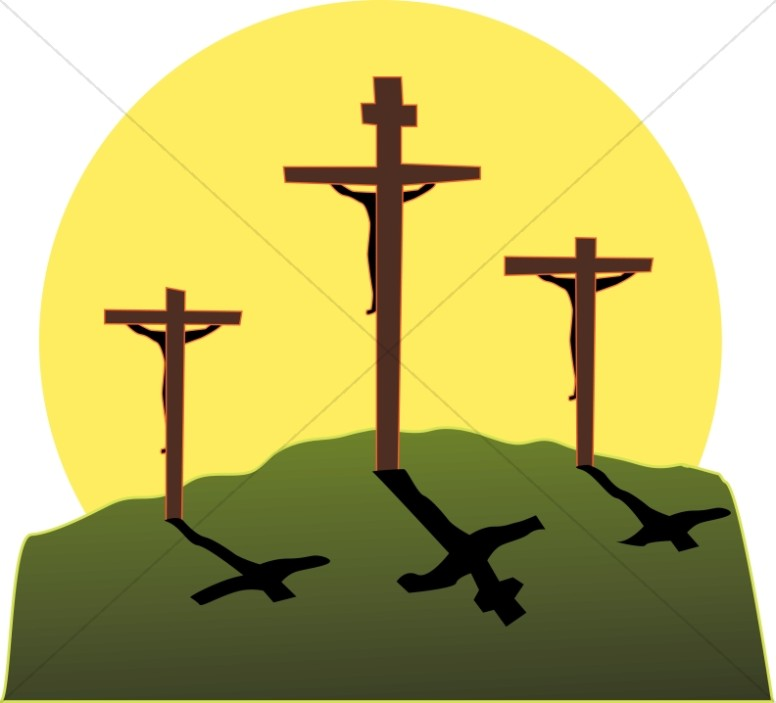 Crucifixion in Three Colors