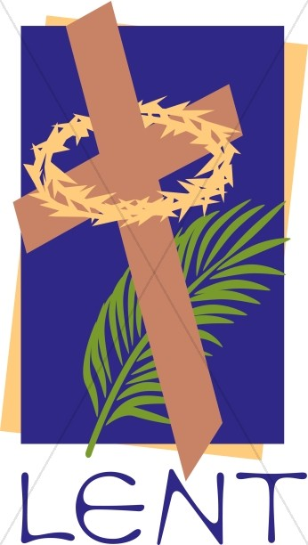 Purple Lent with Holy Week Imagery